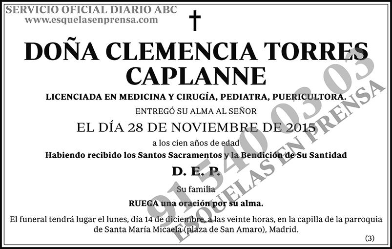 Clemencia Torres Caplanne
